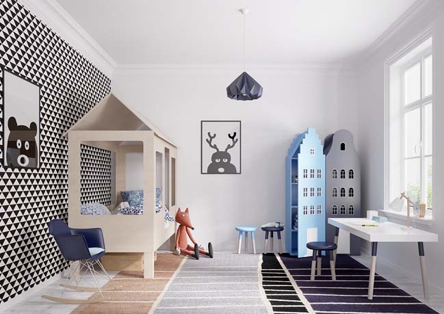 23+ mẫu thiết kế nội thất đẹp cho phòng ngủ của bé