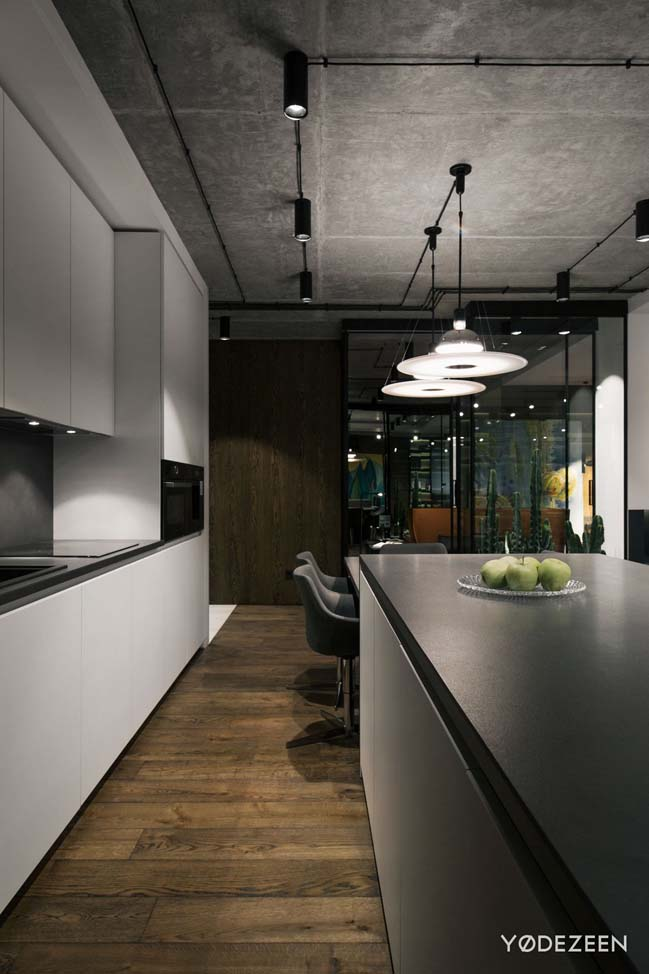 Thiết kế căn hộ 1 phòng ngủ lấy cảm hứng từ sa mạc