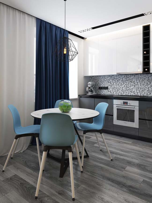 Mẫu căn hộ chung cư nhỏ đẹp dành cho game thủ