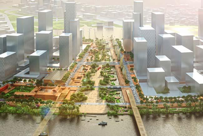 Thiết kế Quảng trường và công viên bờ sông Tp.Hồ Chí Minh
