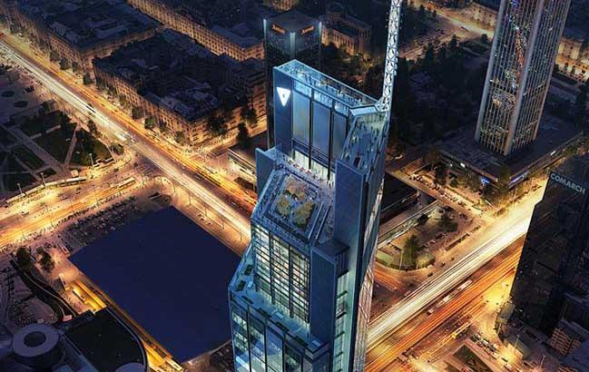 Kiến trúc tòa nhà cao nhất Ba Lan