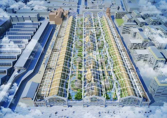Khu phức hợp với kiến trúc xanh tại Brussels