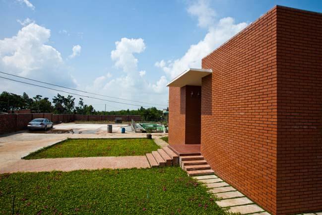 Ngôi nhà vườn hiện đại giữa vùng nông thôn