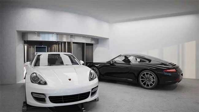 Tòa tháp Porsche Design với garage ngay trong mỗi căn hộ