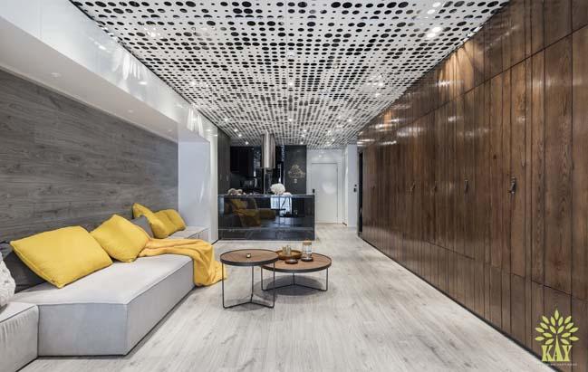 Mẫu nội thất hiện đại cho căn hộ cao cấp tại Hà Nội