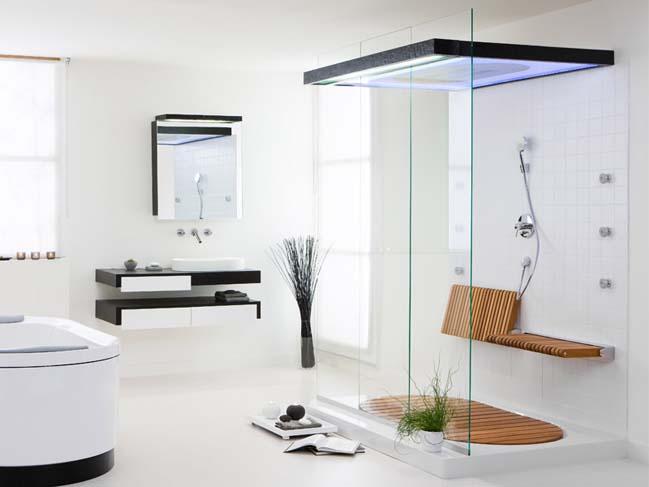 Tổng hợp mẫu phòng tắm kính đẹp khiến bạn mê mẩn