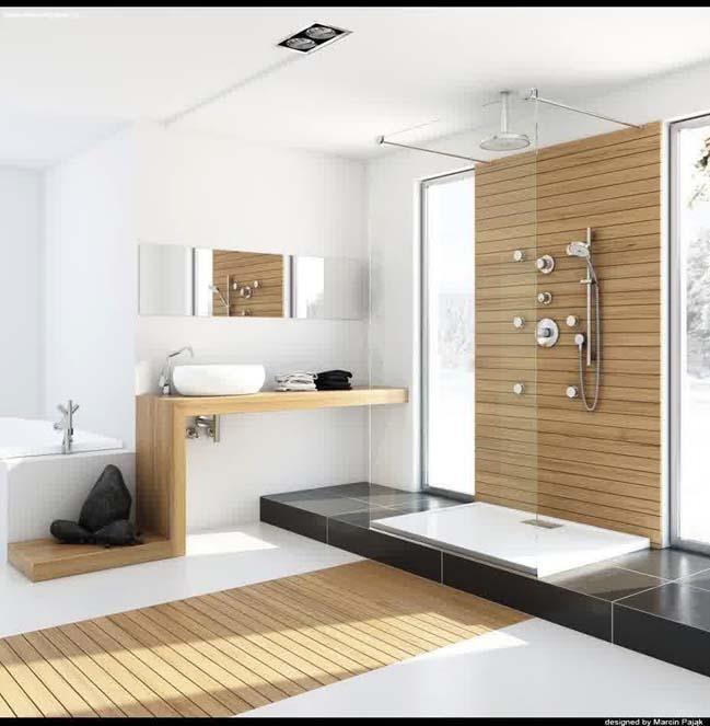 Mẫu phòng tắm kính đẹp