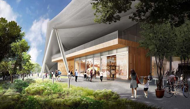 Những hình ảnh mới của trụ sở Google tại California