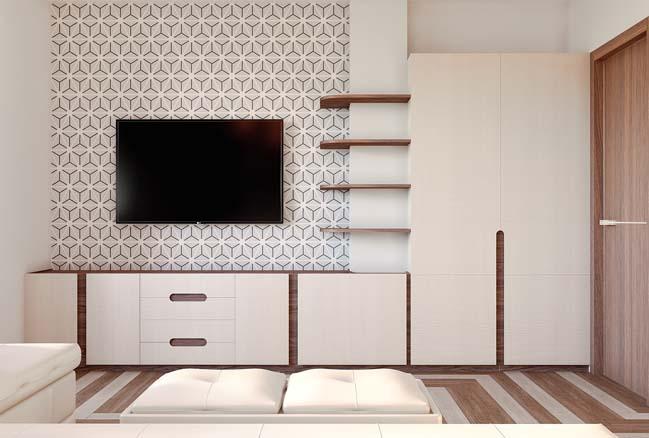 Mẫu nội thất căn hộ chung cư 48m2