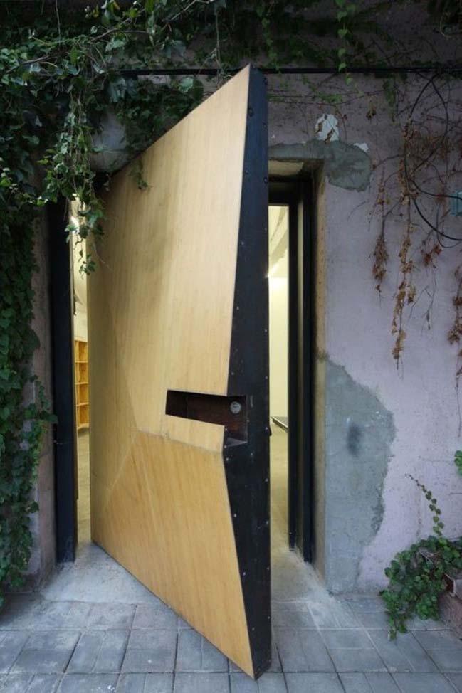Mẫu cửa gỗ đẹp 2017