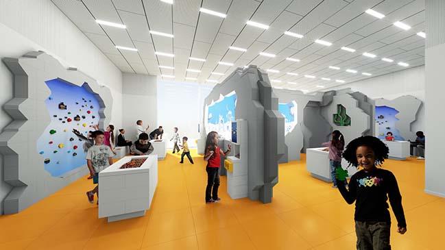 Chiêm ngưỡng kiến trúc Nhà LEGO tại Đan Mạch sắp mở cửa