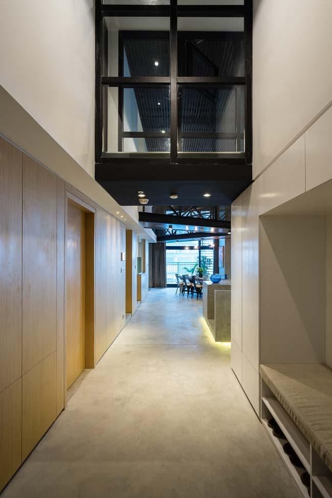 Thiết kế nội thất căn hộ 2 tầng tại Hà Nội