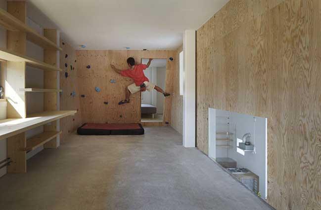 Những ý tưởng để có một bức tường leo núi trong nhà