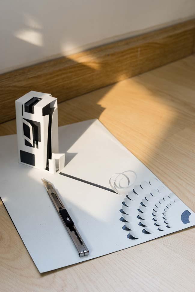 Mẫu nhà nhỏ đẹp với cảm hứng từ nghệ thuật cắt giấy