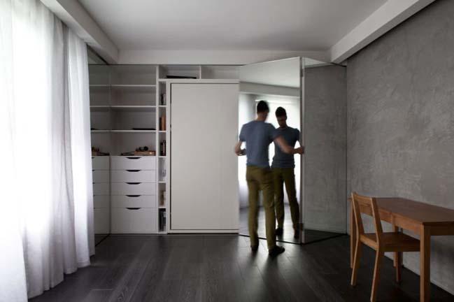 Căn hộ chung cư 26m2 với thiết kế mô-đun