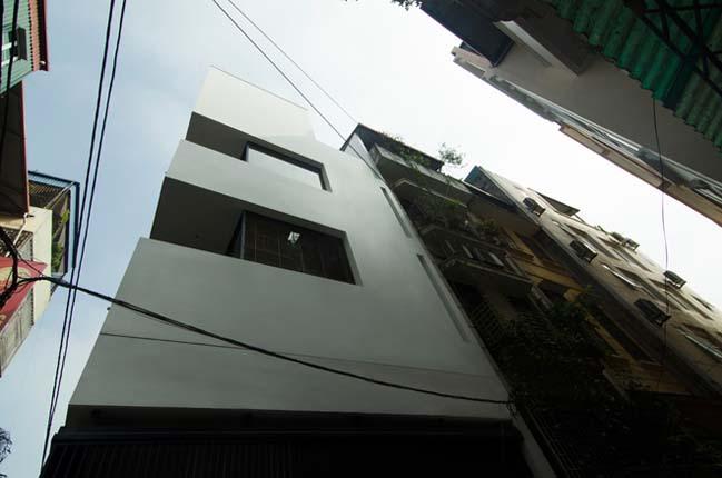 Mẫu nhà phố đẹp 4 tầng tại Hà Nội