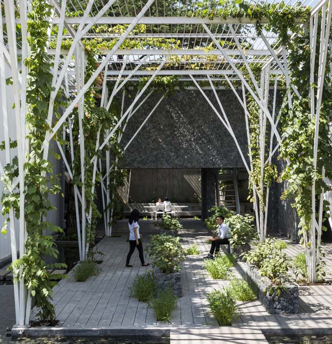 Dàn Thực Phẩm: Công trình kiến trúc xanh tại Tp.HCM
