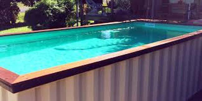 Mê mẩn với những mẫu hồ bơi được làm từ container