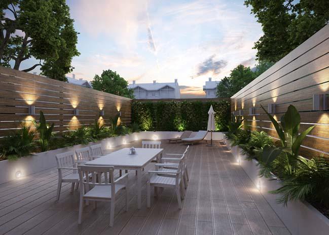 Thiết kế sân vườn tiểu cảnh đẹp 2017