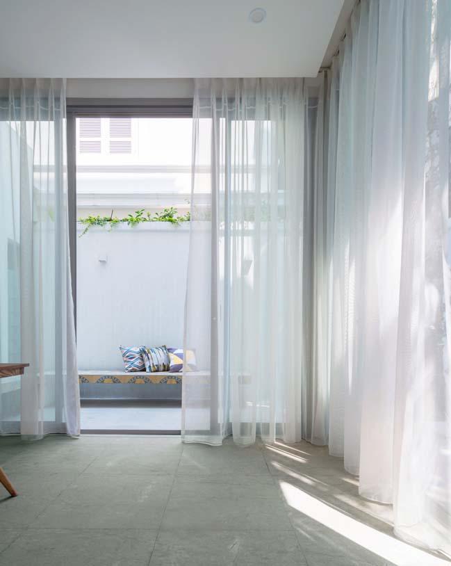 Cải tạo biệt thự đẹp lấy thêm ánh sáng, gió và cây xanh