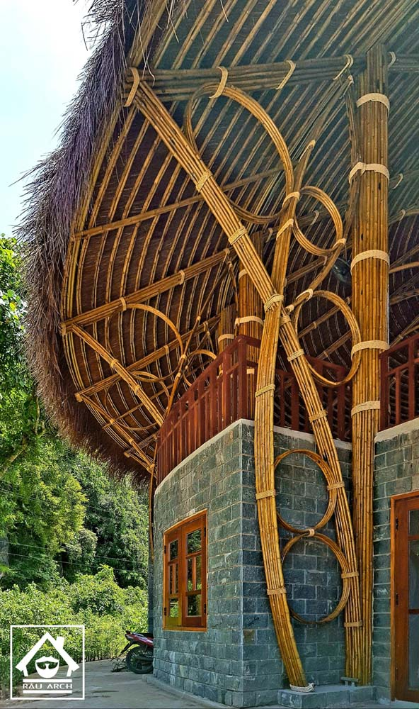 Kiến trúc khu nghỉ dưỡng - Nhà hàng Suối Moọc
