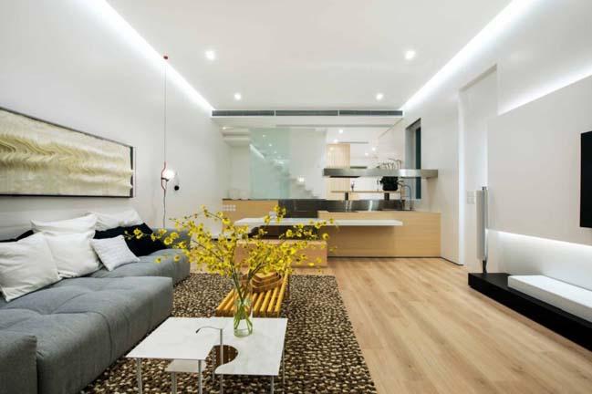 Mẫu nhà đẹp 2 tầng với thiết kế đương đại và tối giản