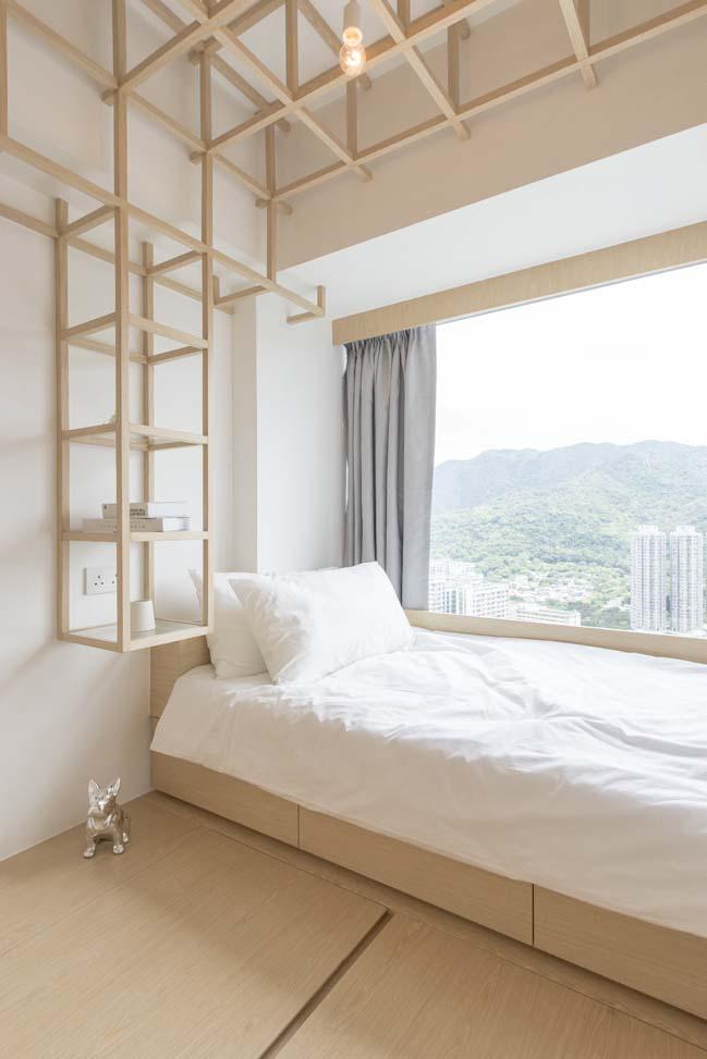 Mẫu căn hộ chung cư với nội thất ấm cúng