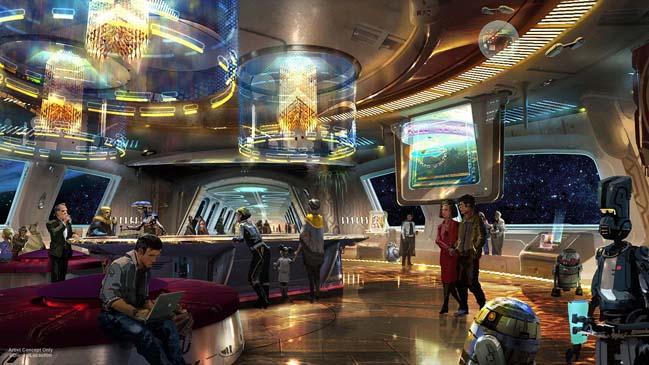 Hãng Disney công bố dự án khách sạn và công viên chủ đề Star Wars