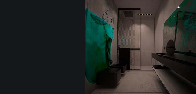 Căn hộ penthouse 2 tầng sang trọng với nội thất gỗ ấm cúng