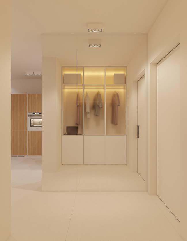 Mẫu thiết kế căn hộ chung cư 1 phòng ngủ