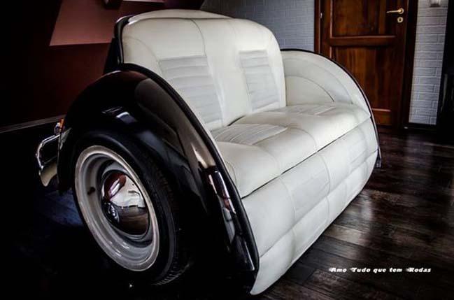 Những mẫu thiết kế ghế sofa đẹp độc nhất vô nhị