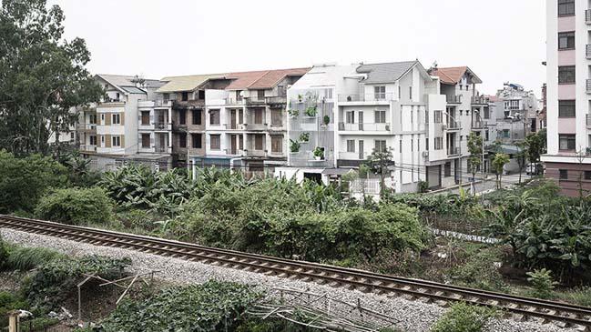 Mẫu nhà phố đẹp ngập tràn ánh sáng tại Hà Nội