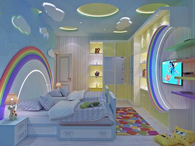 Mẫu phòng ngủ đẹp dành cho bé