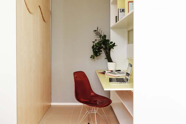 Thiết kế sáng tạo cho căn hộ chung cư 29.5m2