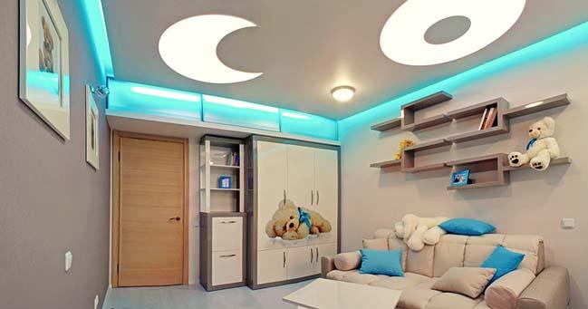 Mẫu thiết kế nội thất phòng ngủ đẹp cho bé 2017