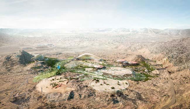 Chiêm ngưỡng kiến trúc ốc đảo sinh thái lớn nhất Thế giới