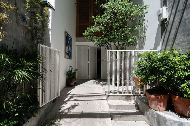 Mẫu nhà phố đẹp mang tên Nét Đẹp Của Sự Sai Lầm
