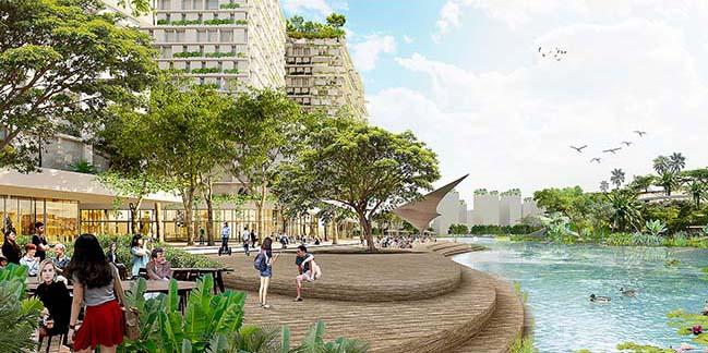 Kiến trúc khu kinh tế thứ 2 tương lai của Singapore