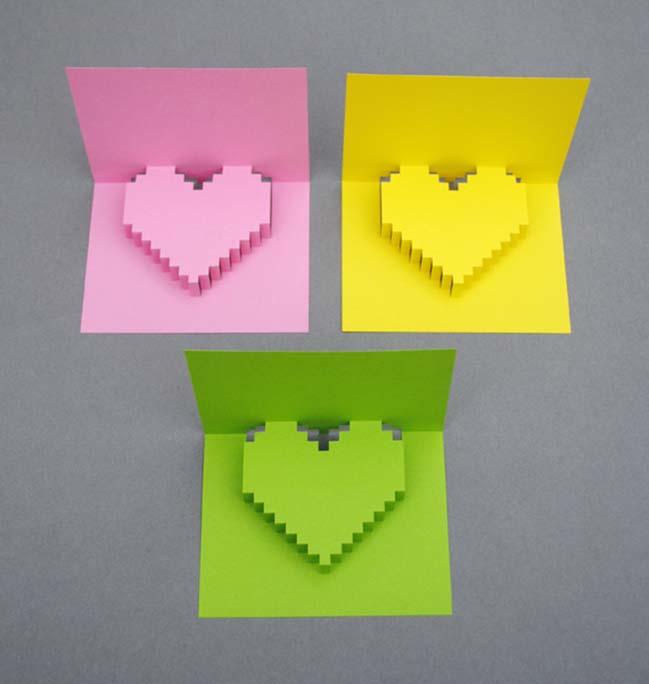 DIY: Tự tay làm những tấm thiệp VALENTINES độc đáo