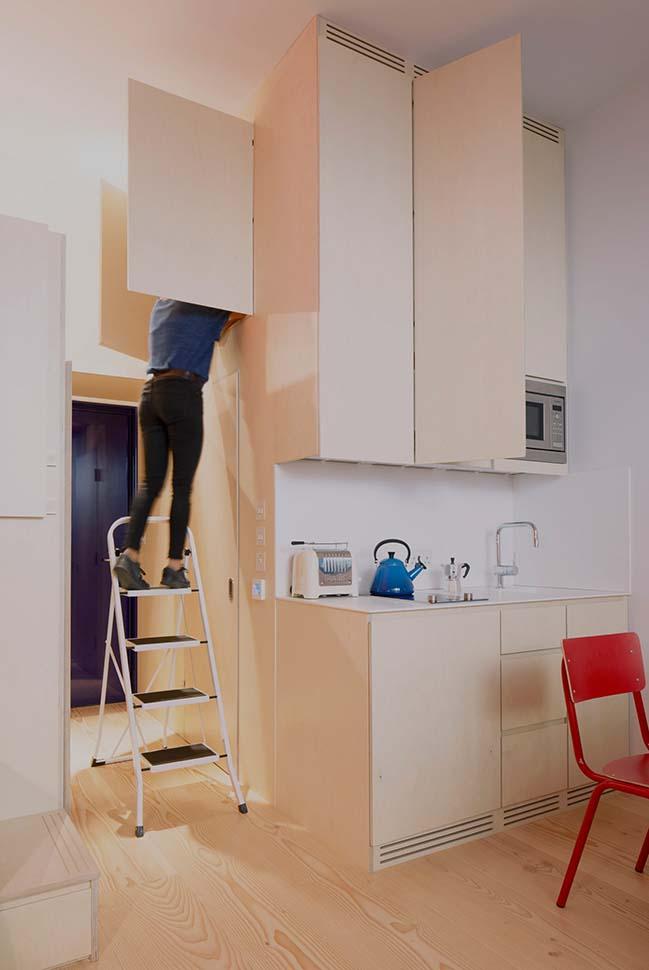 Tối ưu không gian cho nhà nhỏ đẹp 19m2
