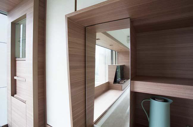 Tham khảo thiết kế sáng tạo cho căn hộ nhỏ 46m2