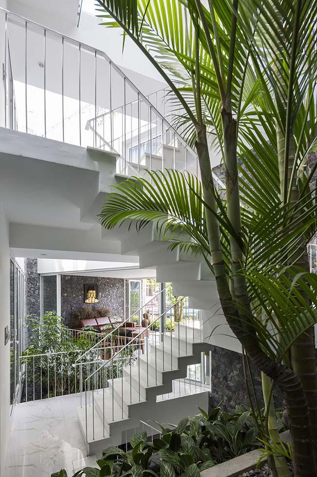 Mẫu nhà phố đẹp với kiến trúc xanh bền vững tại Nha Trang