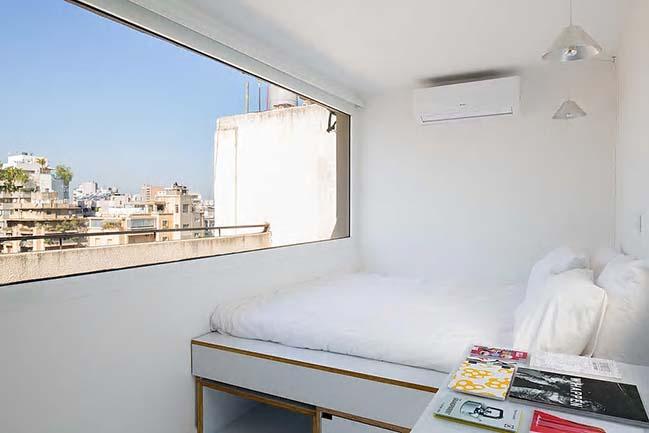 Thiết kế căn hộ 15m2 rộng rãi và ngập tràn ánh sáng