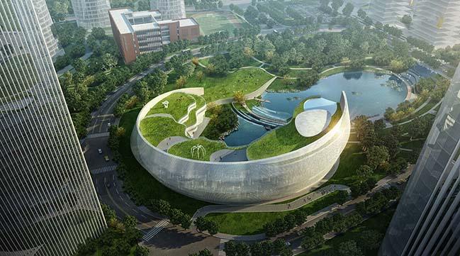 Kiến trúc bền vững khu phức hợp Dữ Liệu Lớn tại Trung Quốc