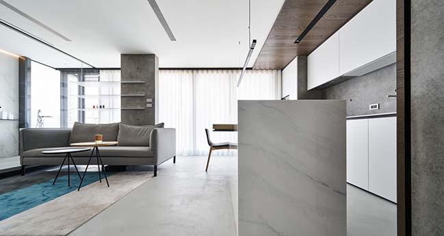 Thiết kế không gian mở cho căn hộ nhỏ 46m2