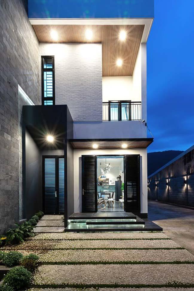 Mẫu nhà đẹp 2 tầng hiện đại tại Đồng Nai