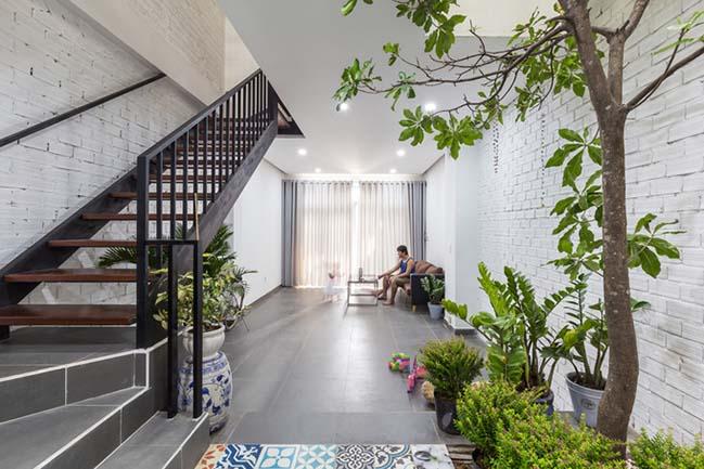 Thiết kế nhà phố đẹp 4 tầng tại Quận 9 với kinh phí 900 triệu