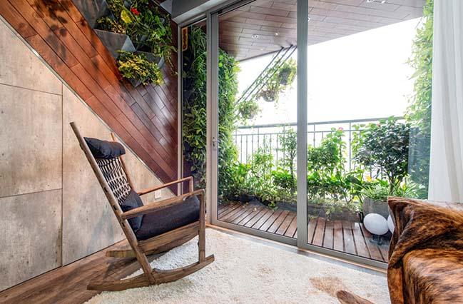 Thiết kế căn hộ với những căn phòng bí mật tại Hà Nội