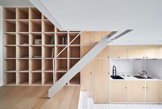 Cải tạo nhà cấp 4 nhỏ đẹp gác lửng thành không gian ấm cúng