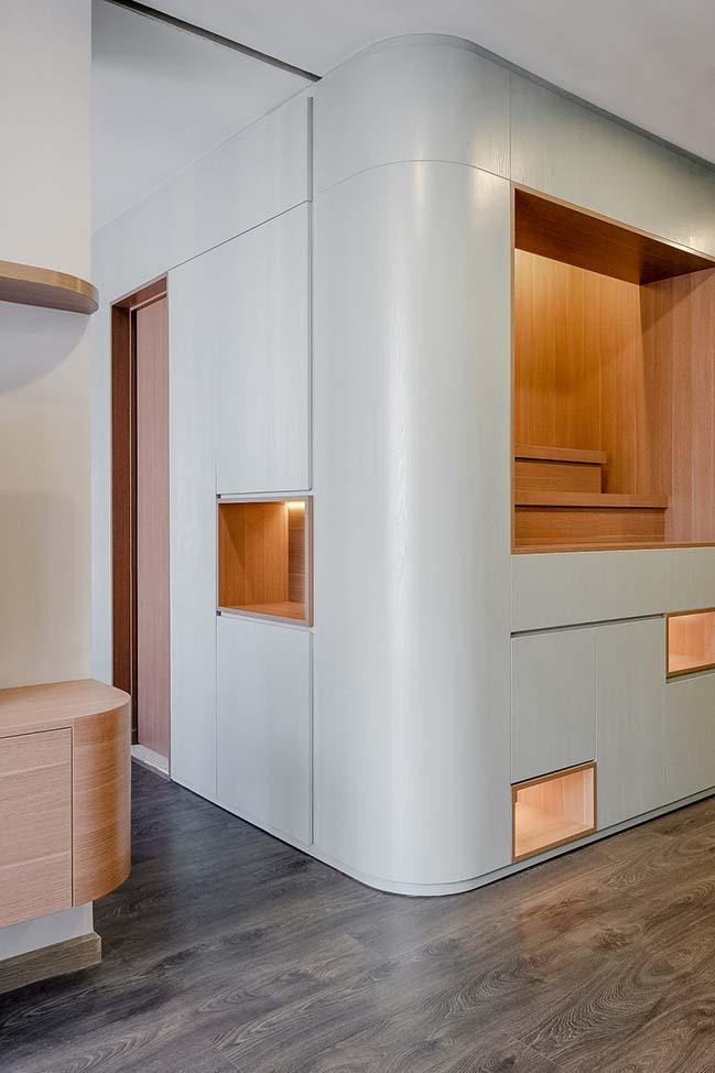 Cải tạo nội thất căn hộ chung cư 78m2 tại Hà Nội
